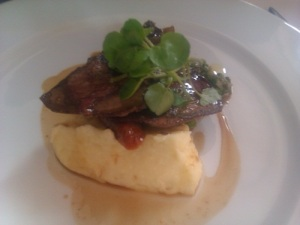 Topes restaurant Rochester Lamb's Liver and Mustard Mash
