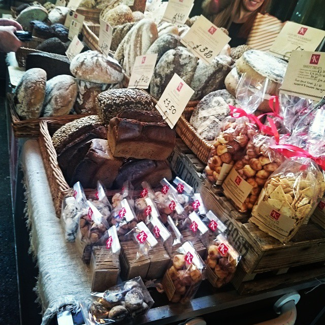 Amazing looking bread at Borough Market #hollyheartsfood